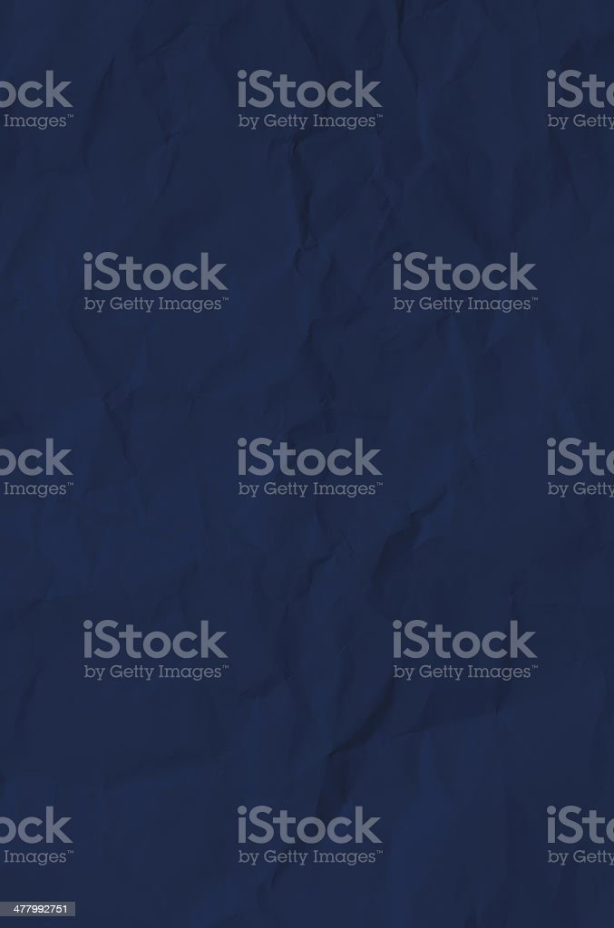 Handmade crumpled paper texture or background stock photo