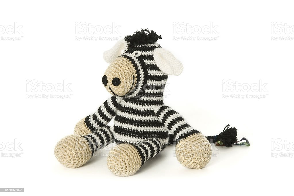 Handmade Cuddly Toy royalty-free stock photo