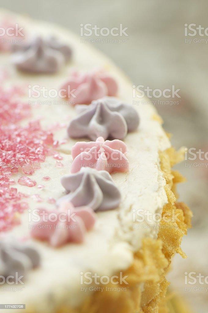 handmade filbert cake royalty-free stock photo