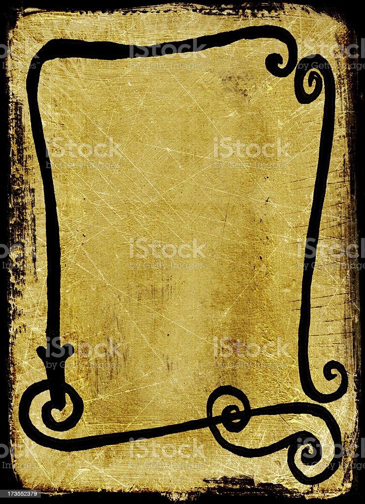 Handmade Frame Background royalty-free stock photo