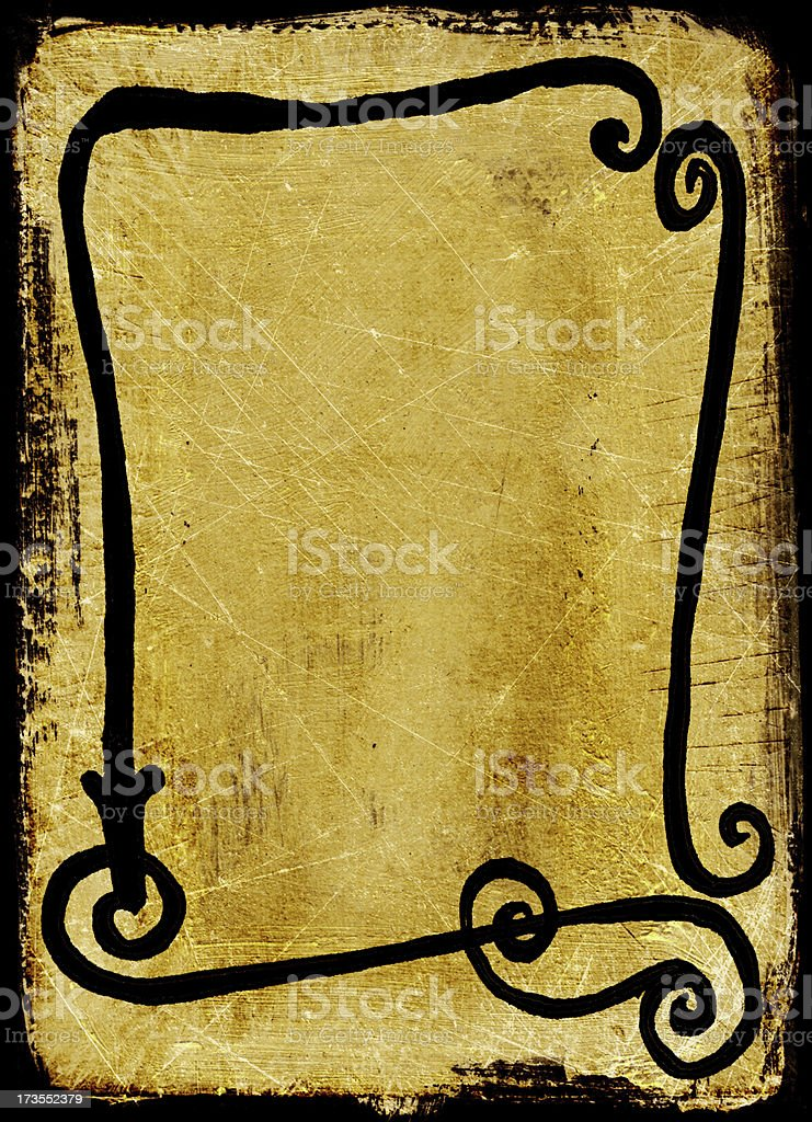 Handmade Frame Background stock photo