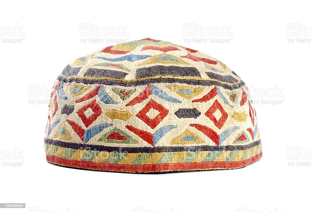 Handmade Kufi Hat stock photo