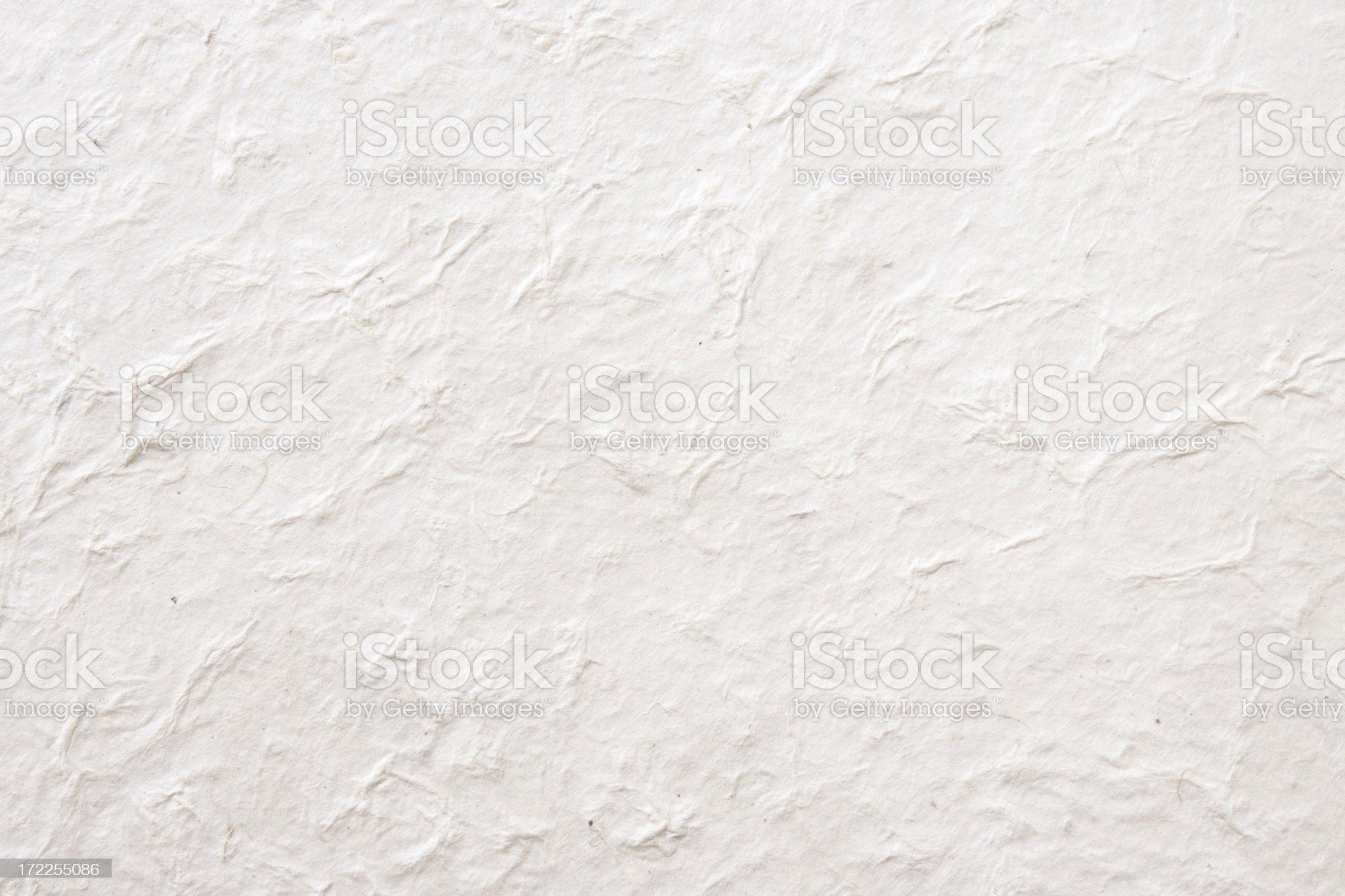 Handmade lokta paper royalty-free stock photo