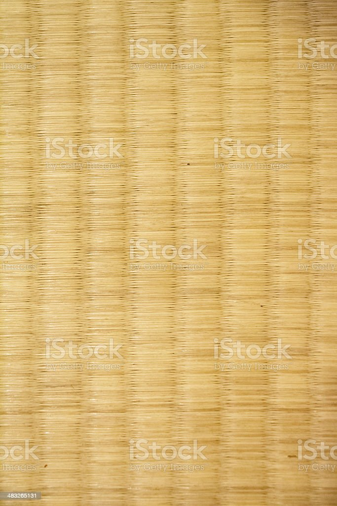 Handmade Mat,Woven mats made ​​of grass stock photo