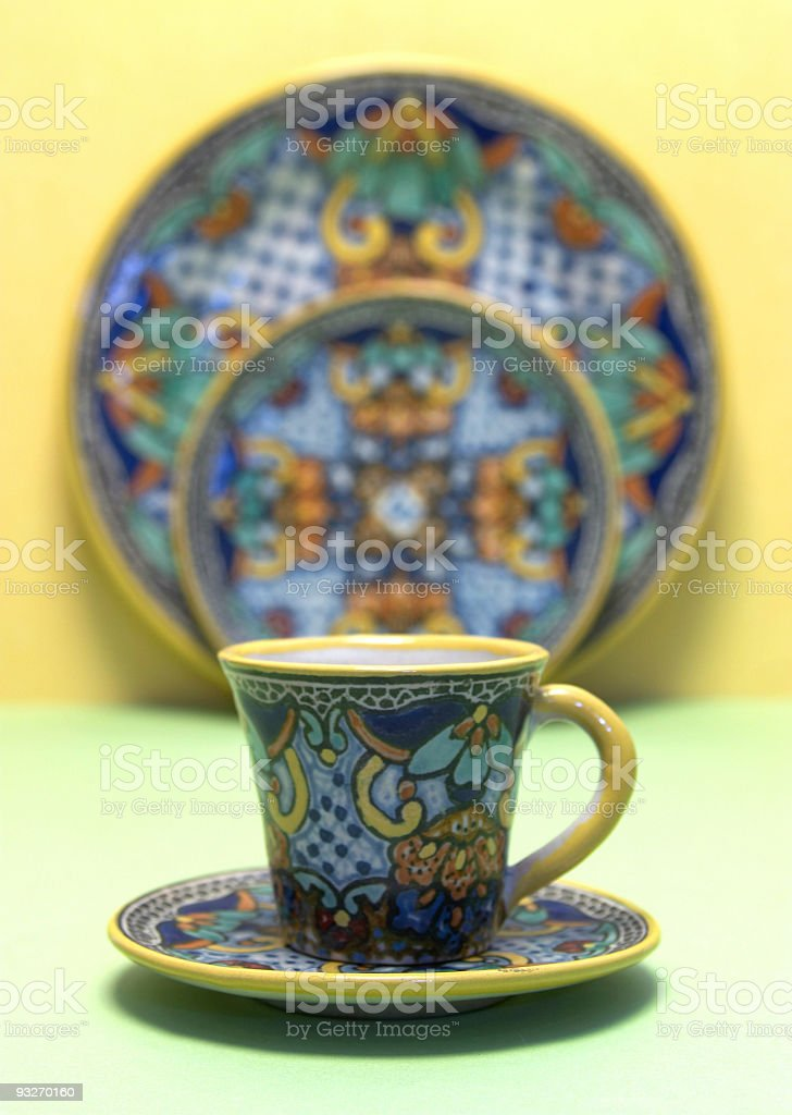 Handmade Mexican Pottery #2 royalty-free stock photo