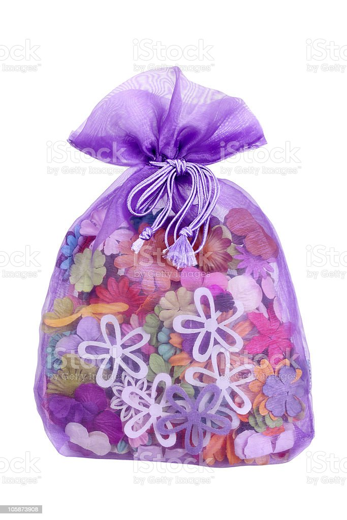 Handmade paper flowers royalty-free stock photo