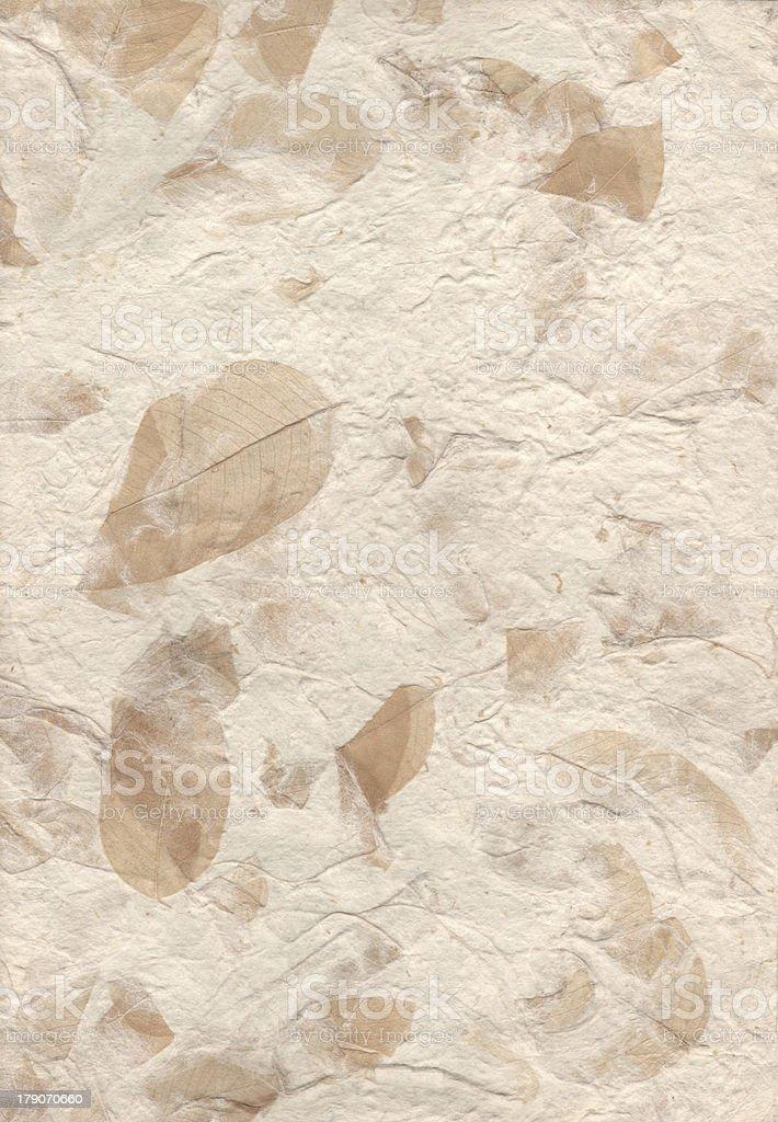 Handmade paper royalty-free stock photo