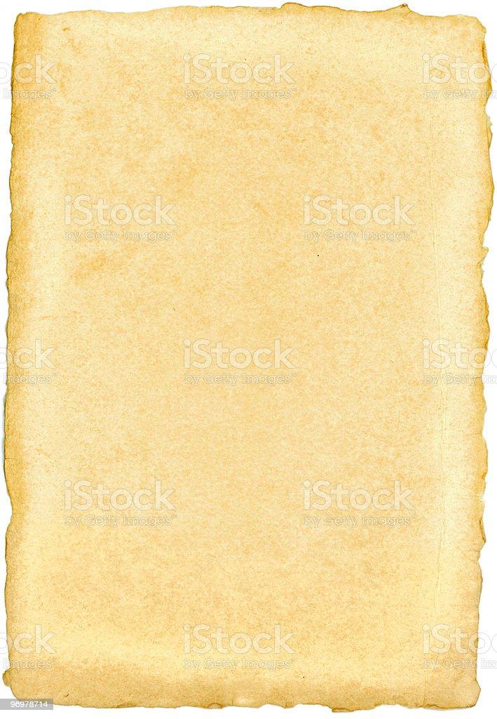 Handmade paper stock photo