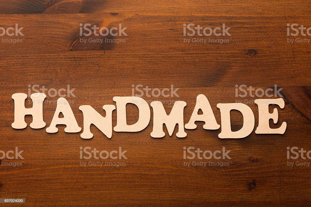 Handmade stock photo