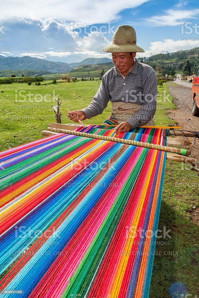 Handmade Rainbow stock photo