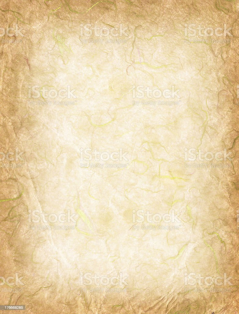 Handmade rice paper texture royalty-free stock photo