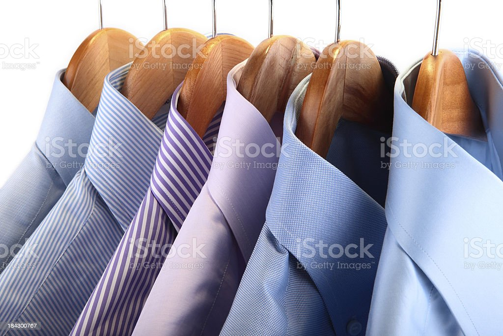 Handmade shirts royalty-free stock photo