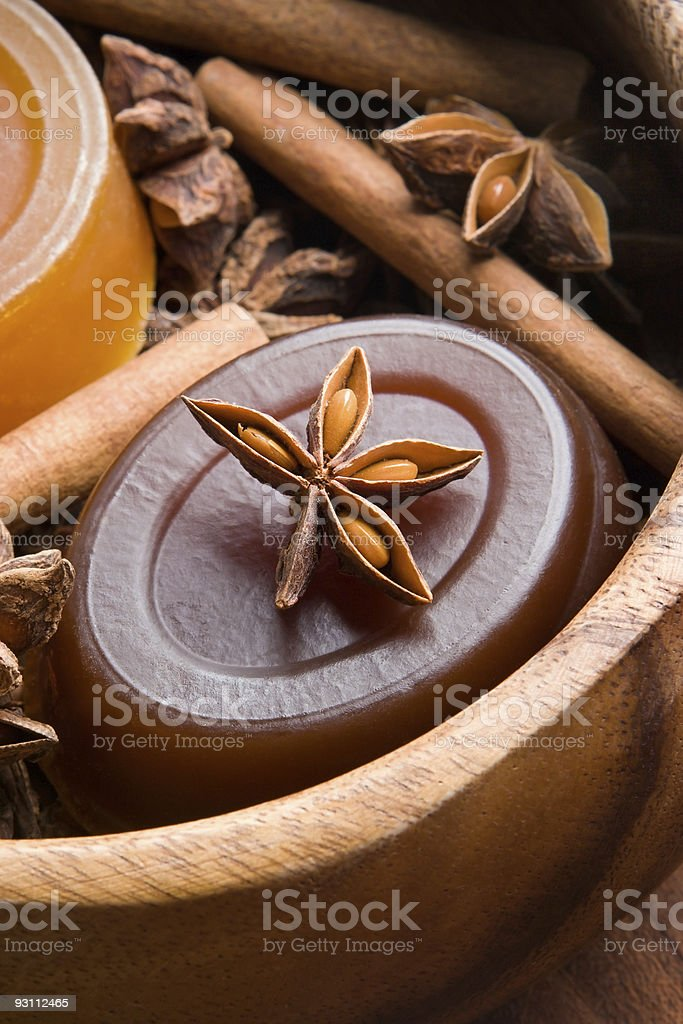Handmade soap royalty-free stock photo