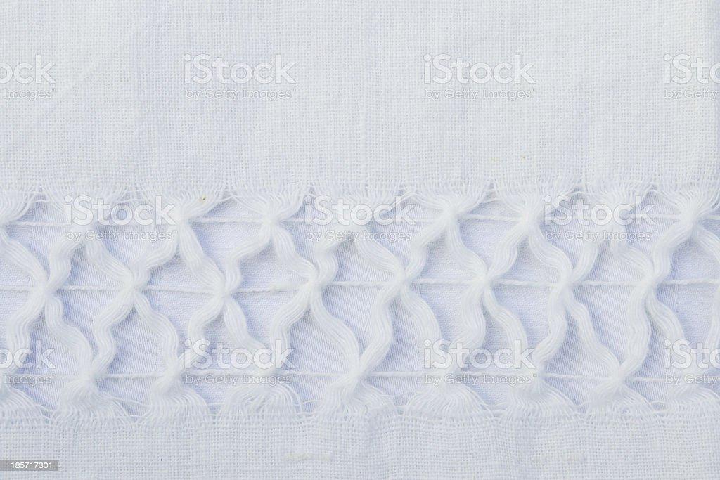 Handmade Tablecloth royalty-free stock photo