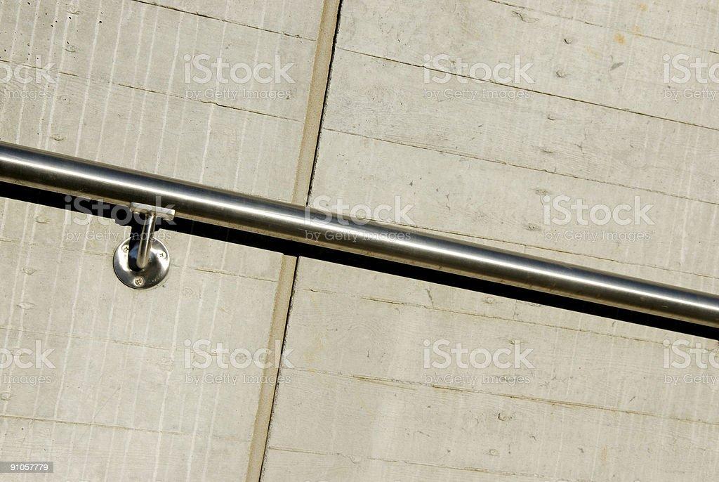 Handrail royalty-free stock photo
