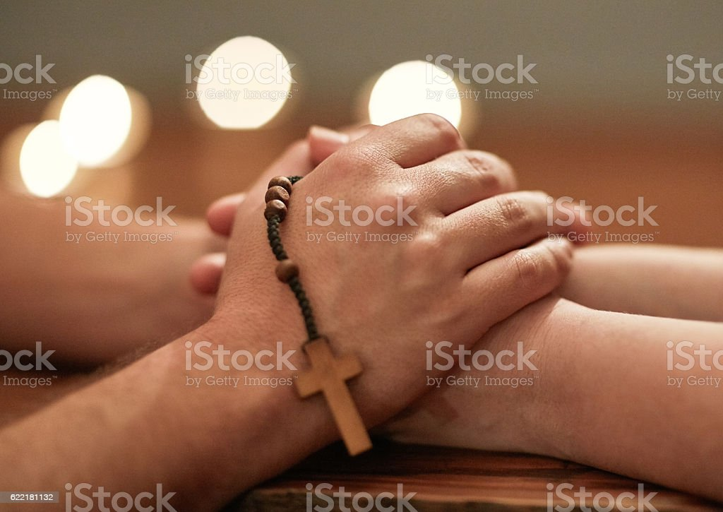 Hands are there to help others stock photo