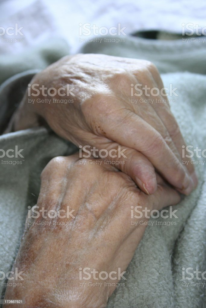Hands at Rest royalty-free stock photo