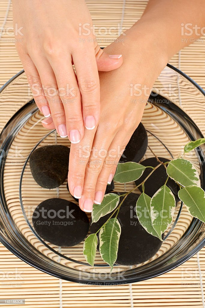 hands care royalty-free stock photo