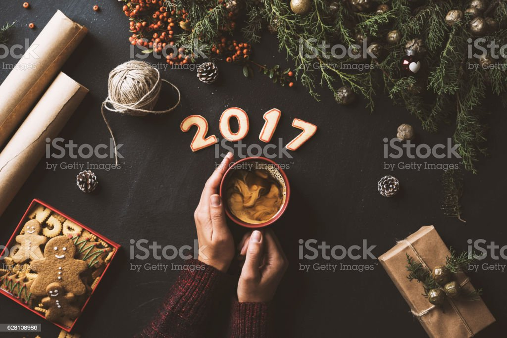 Image result for coffee and New Years 2017