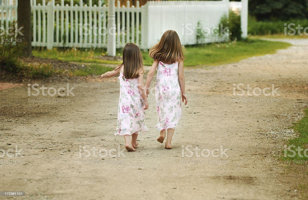 Hands in Hand royalty-free stock photo