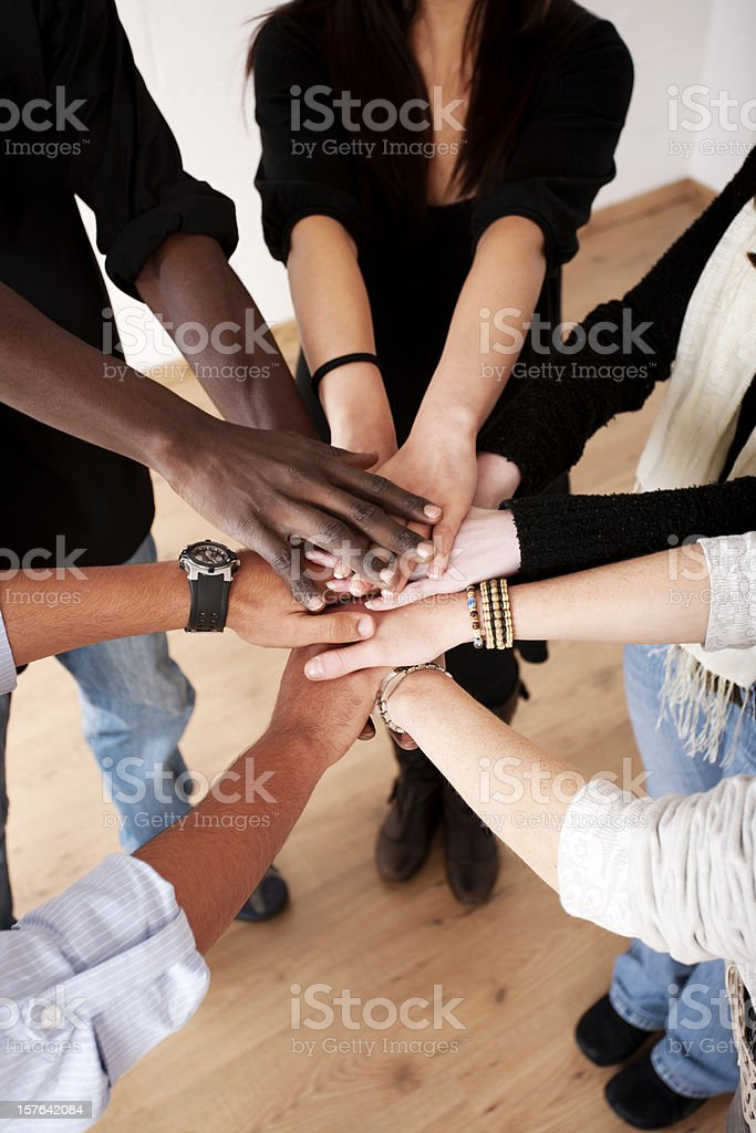 Hands in royalty-free stock photo