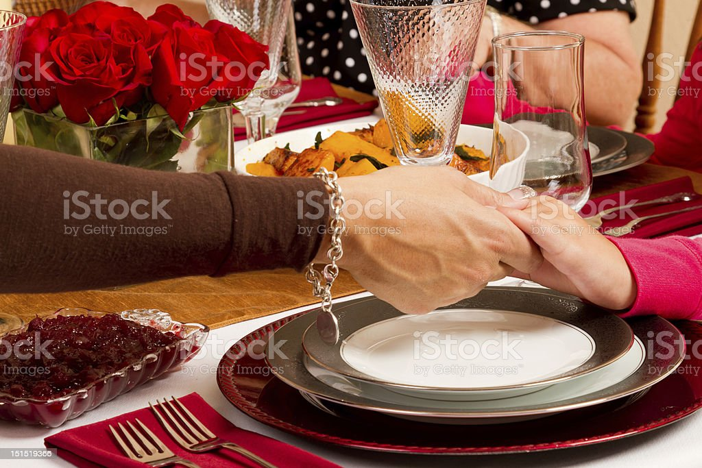 Hands in Prayer royalty-free stock photo