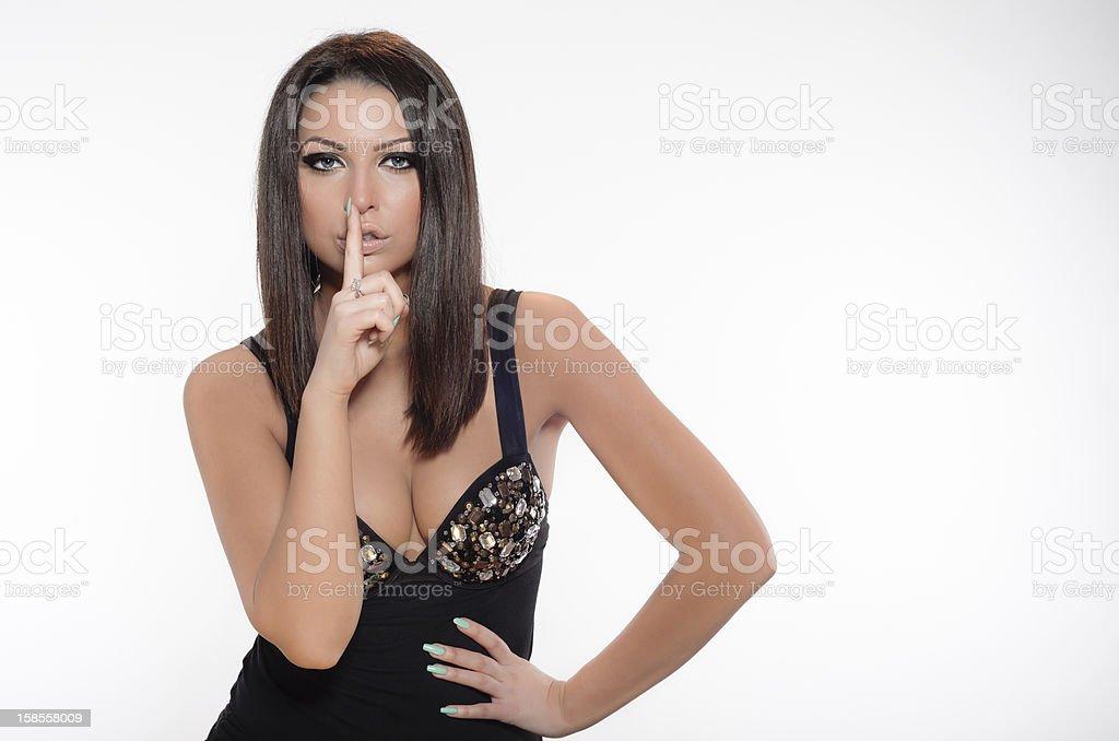 Hands language royalty-free stock photo