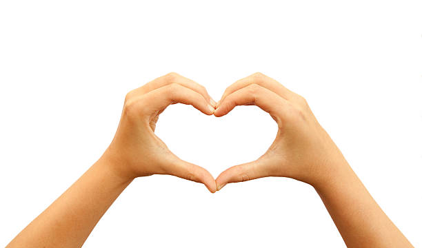 making heart by hands - photo #9