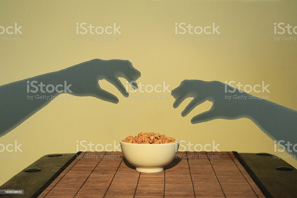 hands of my nuts royalty-free stock photo