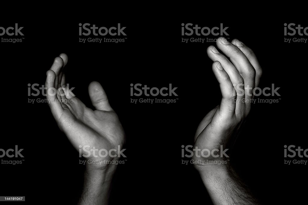Hands of Worship royalty-free stock photo
