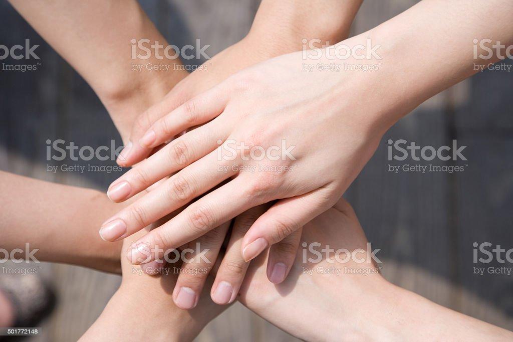 As mãos foto royalty-free