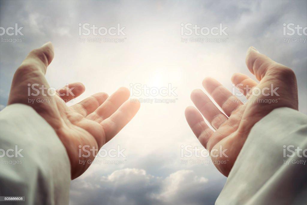 Hands stock photo