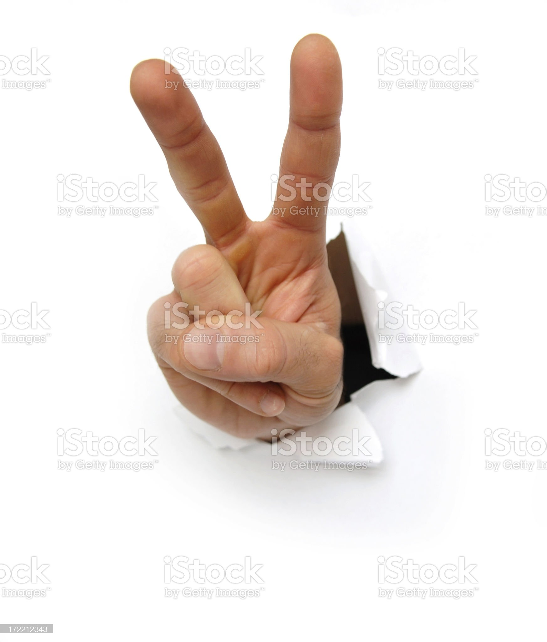 hands series royalty-free stock photo