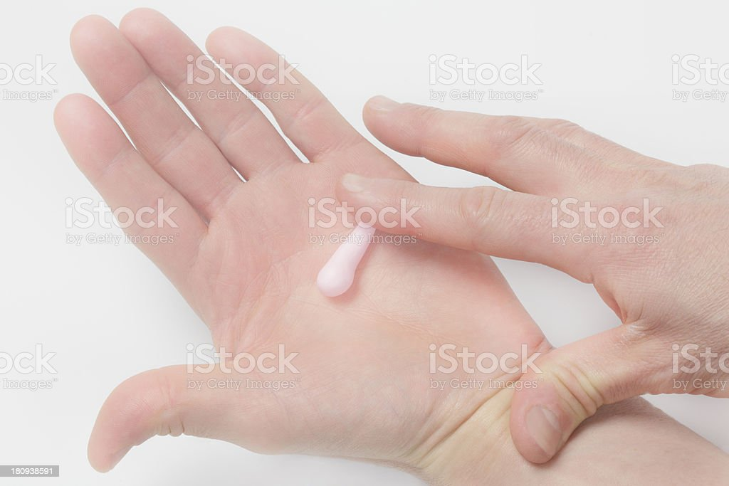 Hands shaping royalty-free stock photo