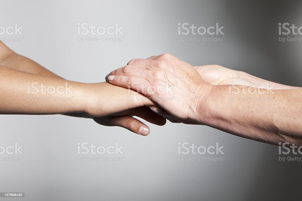 hands: trust and support royalty-free stock photo