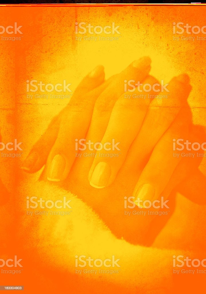 hands_pleading royalty-free stock photo
