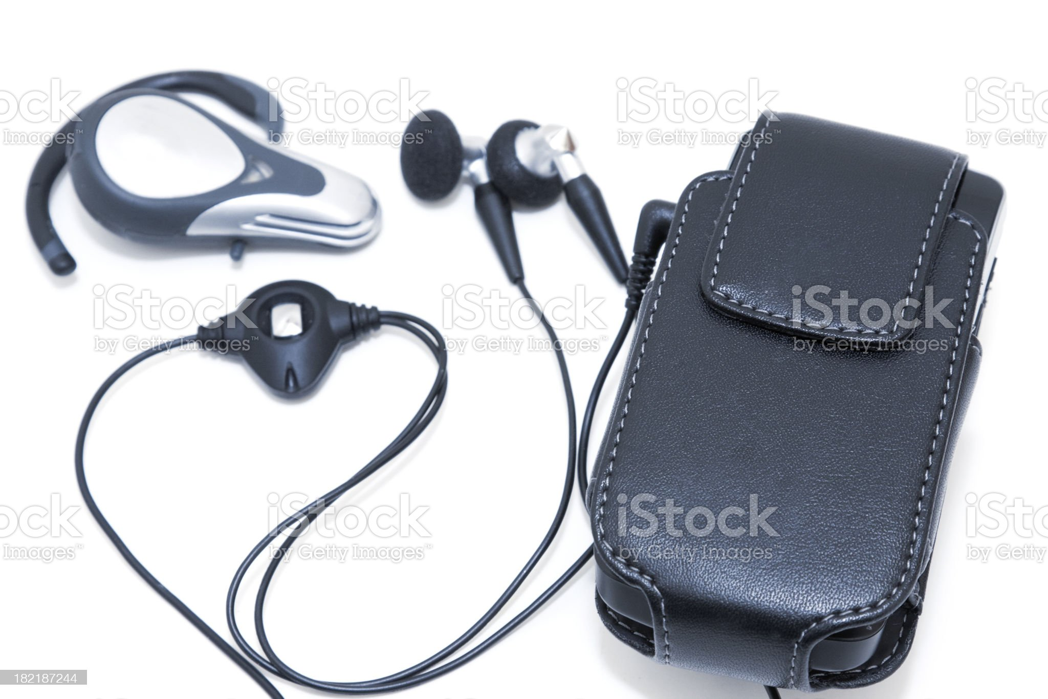 handsfree accessories royalty-free stock photo