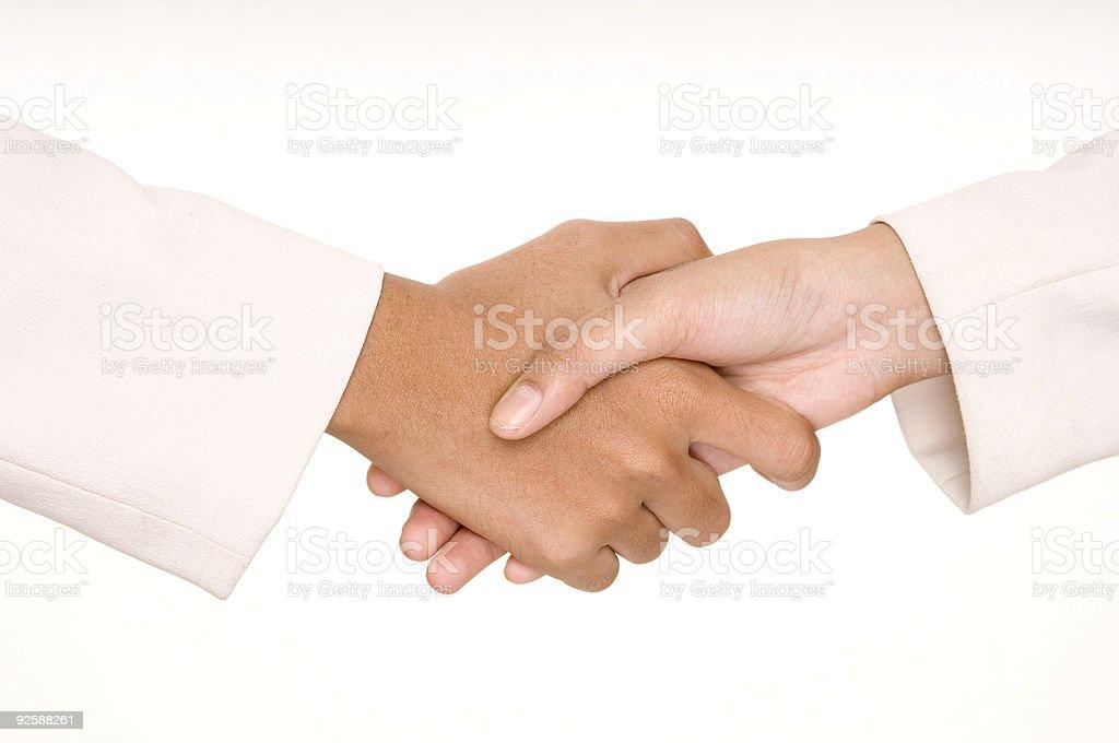 Handshake 1 stock photo