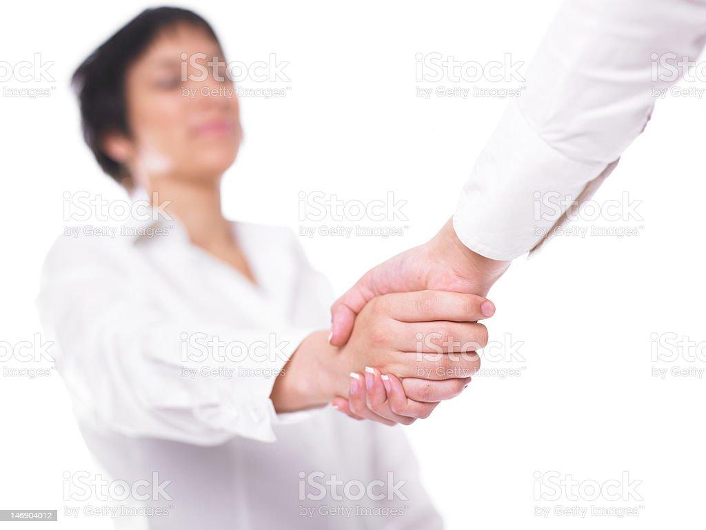 Handshake Handshaking royalty-free stock photo