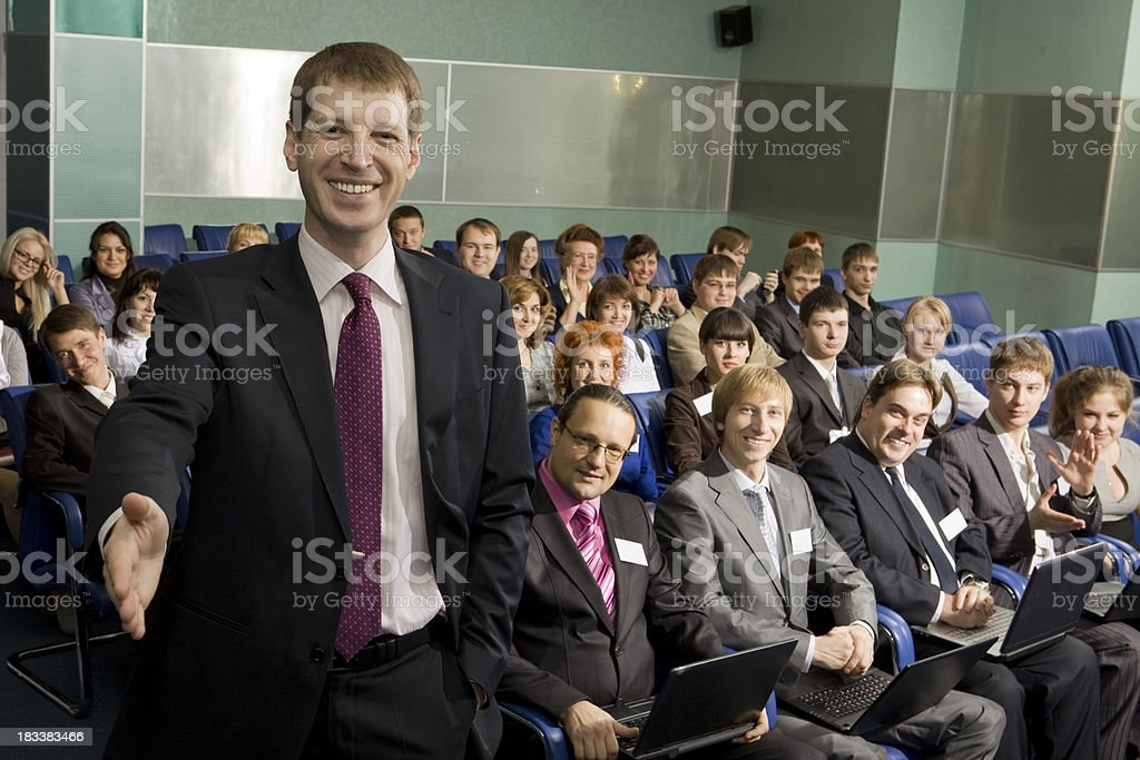 Handshake of Successful Businessman. royalty-free stock photo