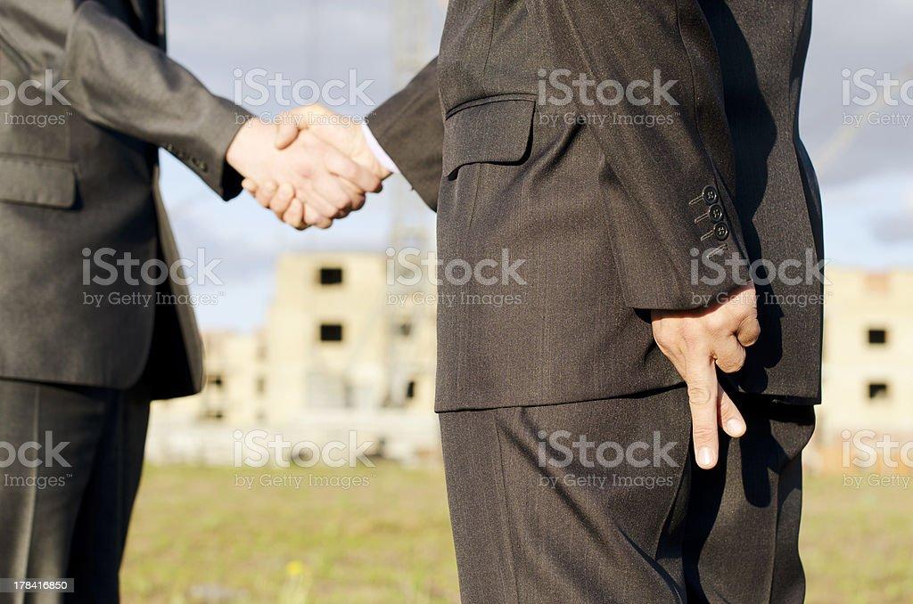 Handshake. royalty-free stock photo