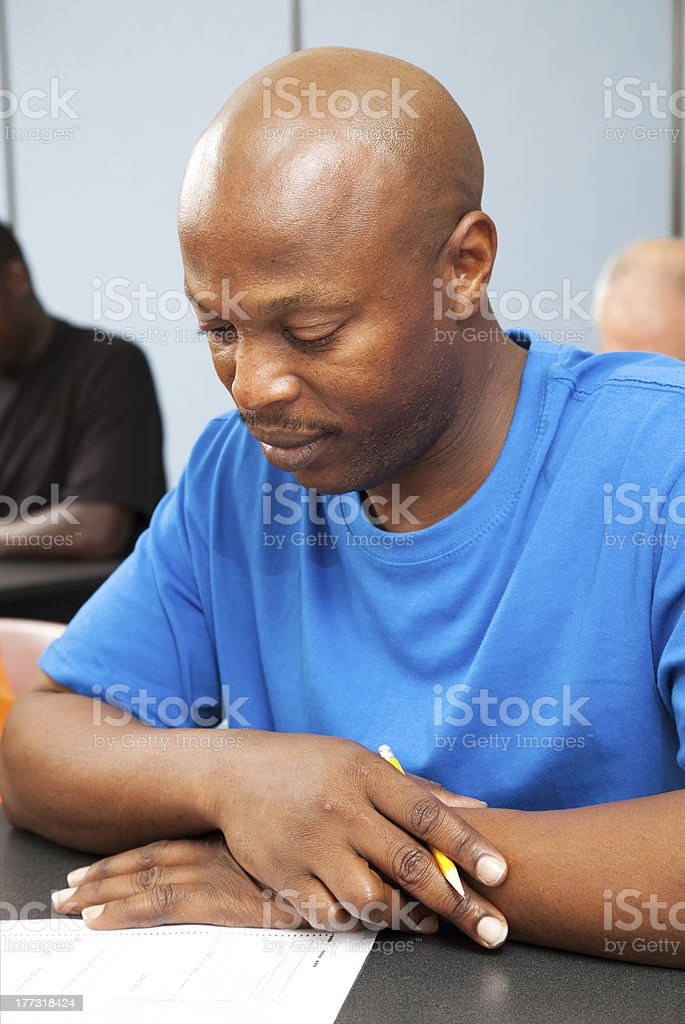 Handsome Adult College Student royalty-free stock photo