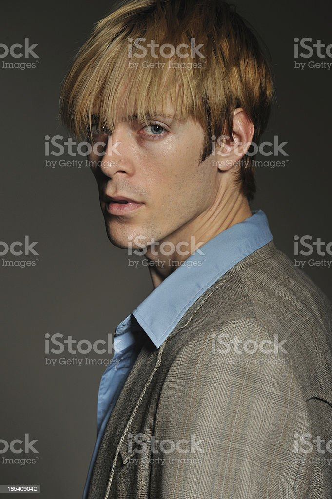 Handsome American young man royalty-free stock photo