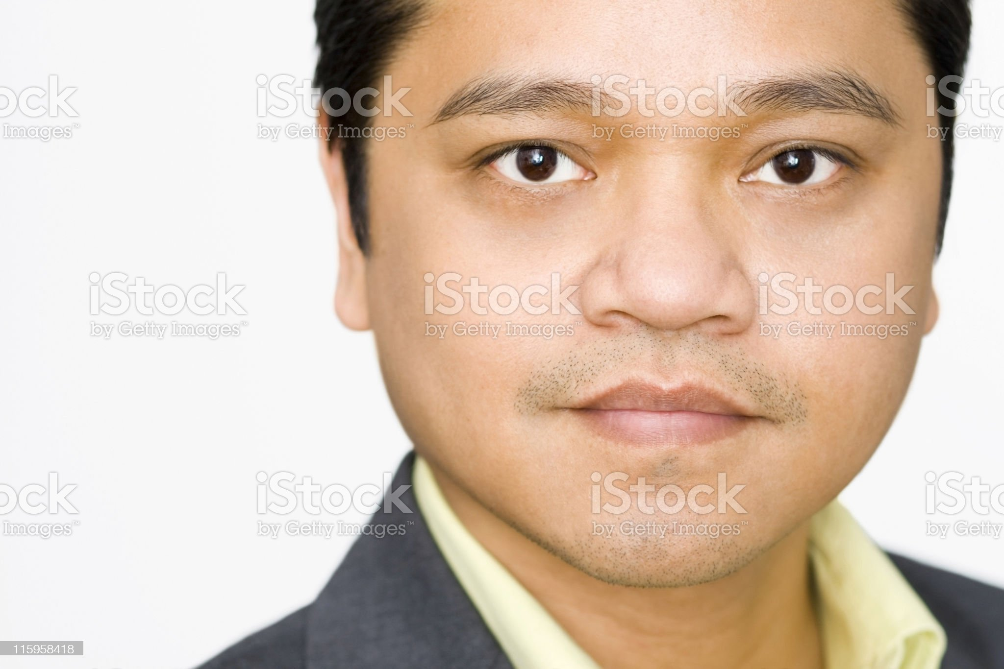 Handsome Asian Executive royalty-free stock photo
