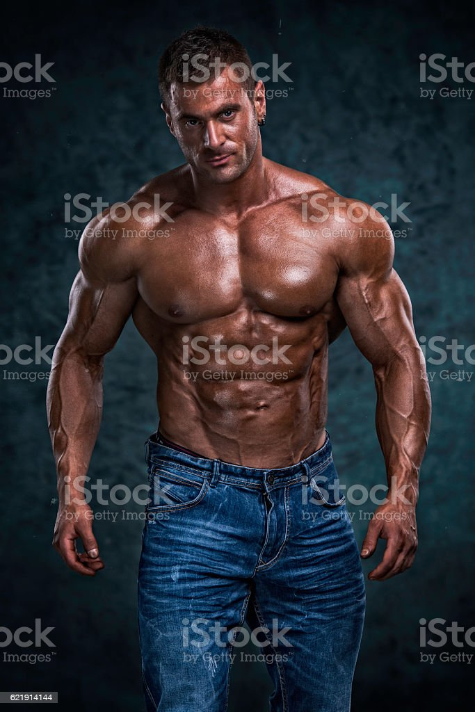 Handsome Athletic Men stock photo