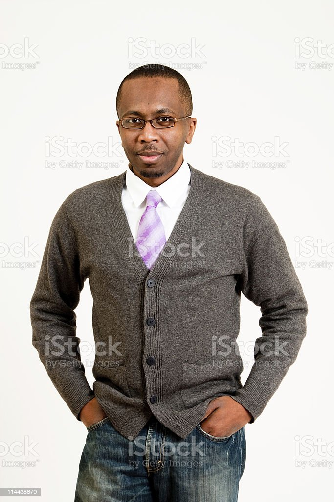 Handsome Black Man royalty-free stock photo