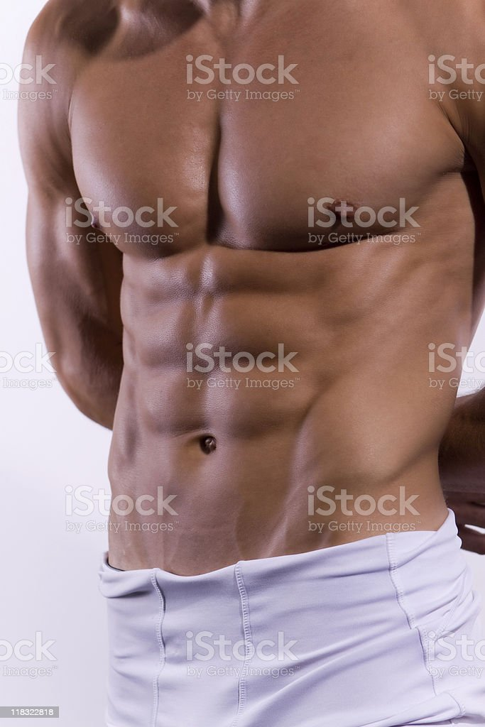 Handsome body royalty-free stock photo