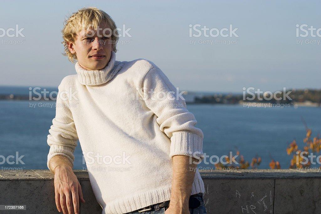 Handsome boy portrait royalty-free stock photo