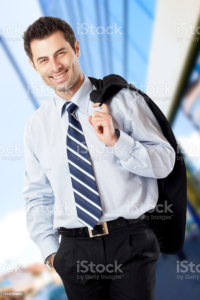 Handsome Businessman royalty-free stock photo