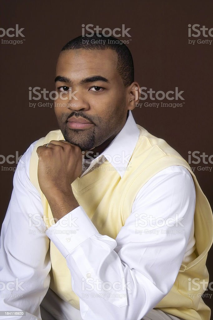 Handsome Casual Male stock photo
